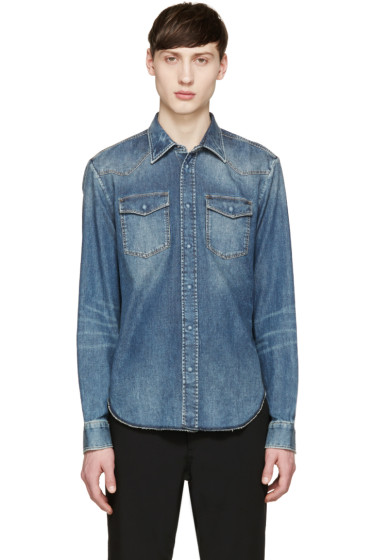 Maison Margiela - Blue Denim Shirt