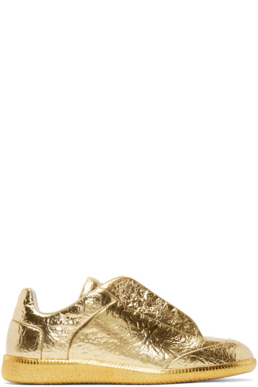 Maison Martin Margiela - Gold Metallic Future Sneakers