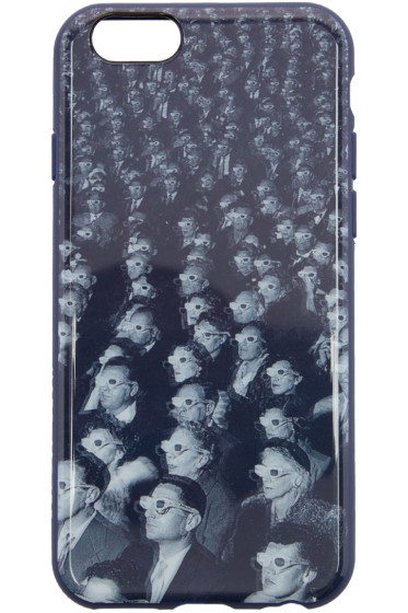 Marc Jacobs - Navy 3D Glasses iPhone 6/6S Case