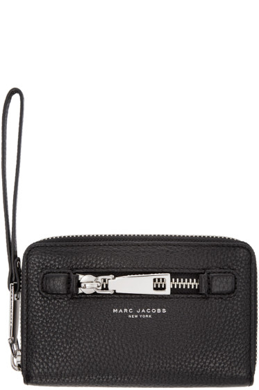 Marc Jacobs - Black Leather Gotham City Wallet
