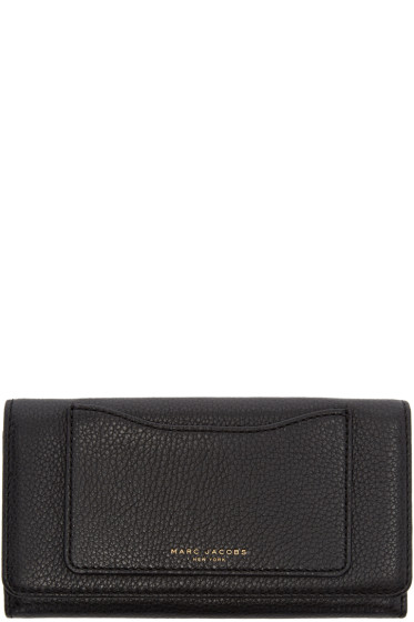 Marc Jacobs - Black Leather Recruit Wallet