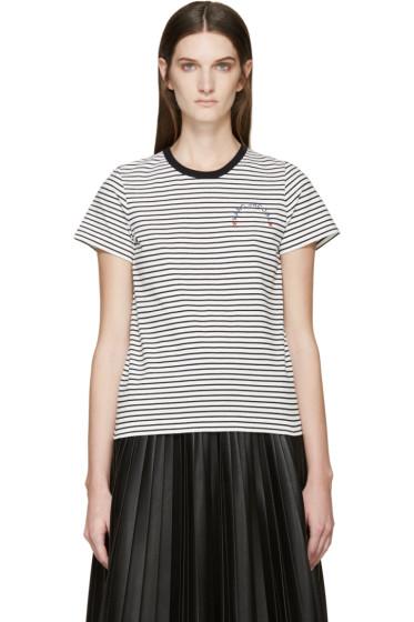 Marc Jacobs - Black & White Striped T-Shirt