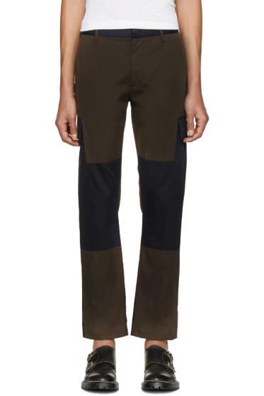 Marc Jacobs - Green & Navy Cargo Pants