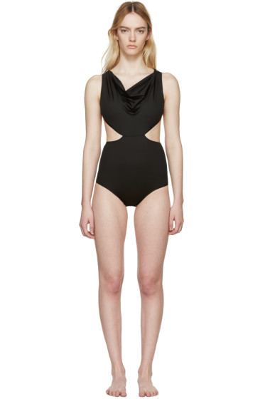 Rick Owens - Black Dropped Swimsuit