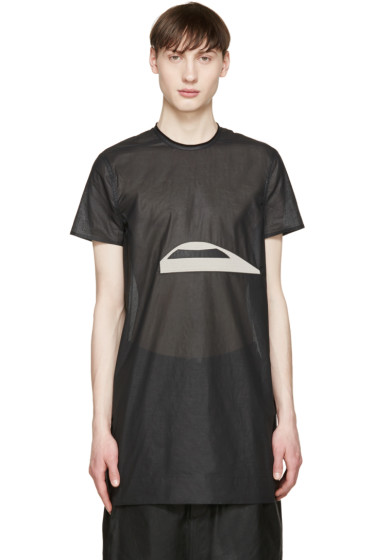 Rick Owens - Black Cyclops T-Shirt