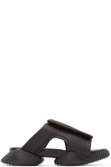 Rick Owens - Black adidas by Rick Owens Clog Sandals
