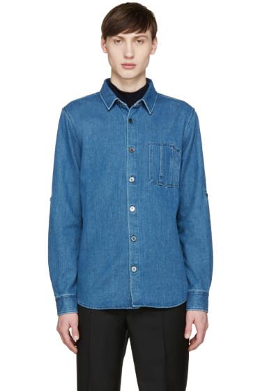 A.P.C. - Indigo Denim Kansas Shirt
