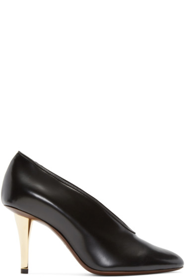 Lanvin - Black Leather Heels