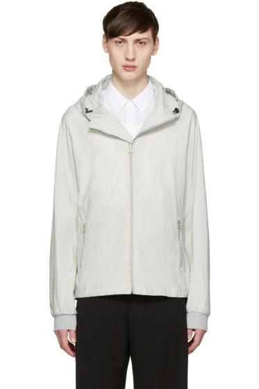 Lanvin - Grey Hooded Windbreaker