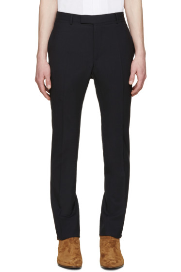 Lanvin - Navy Skinny Trousers
