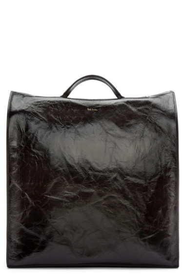 Paul Smith - Black Leather Catwalk Tote Bag