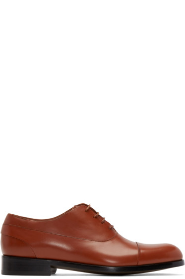 Paul Smith - Brown Leather Oxfords