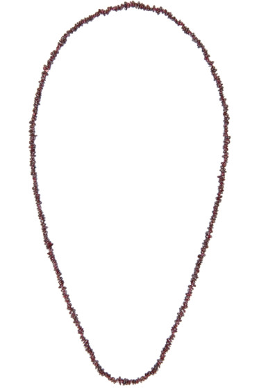 Damir Doma - Purple Beaded Alicia Necklace