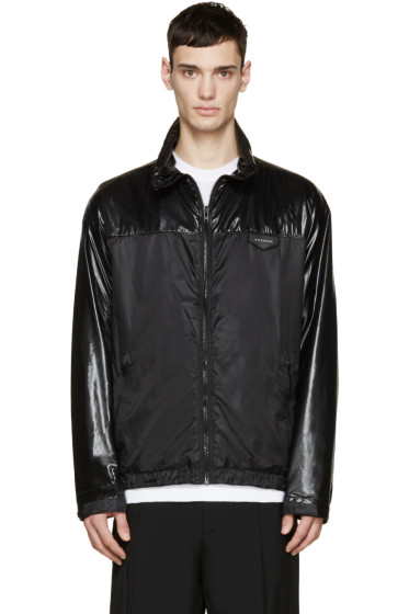 Givenchy - Black Nylon Windbreaker