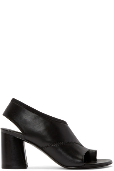 3.1 Phillip Lim - Black Drum Heels
