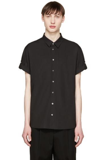 3.1 Phillip Lim - Black Poplin Fisherman Shirt