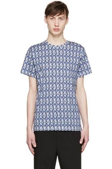 Carven - Multicolor Wavy Print T-Shirt