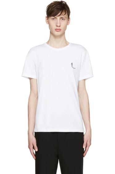 Carven - White Shadow Logo T-Shirt
