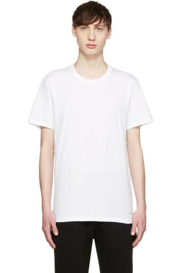 Calvin Klein Underwear - White Crewneck T-Shirt Three-Pack
