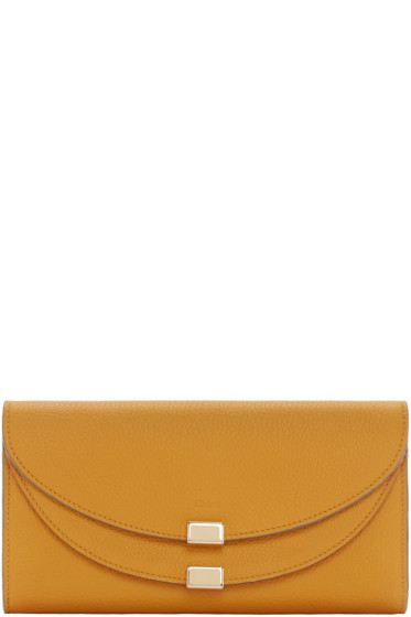 Chloé - Yellow Long Georgia Wallet
