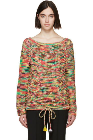 Chloé - Multicolor Knit Space Dyed Sweater