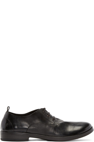 Marsèll - Black Leather Lista Derbys