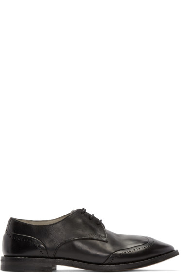 Marsèll - Black Leather Stiro Brogues