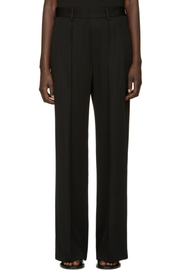 Neil Barrett - Black Masculine Slouch Trousers