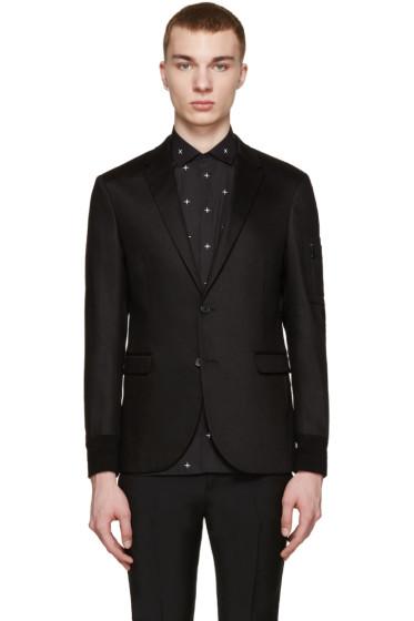 Neil Barrett - Gabardine stretch cotton blazer