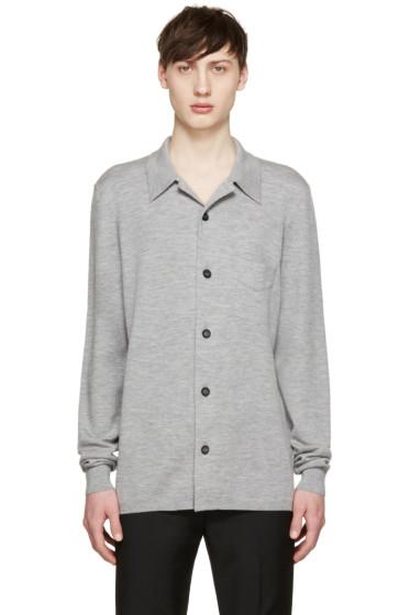 Burberry Prorsum - Grey Cashmere Cardigan