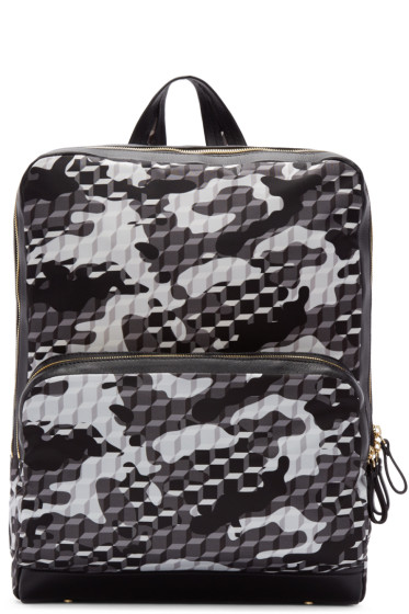 Pierre Hardy - Black & White Cube Backpack