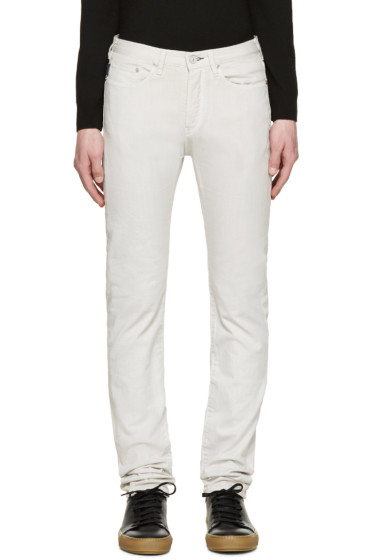 Paul Smith Jeans - Off-White Slim-Fit Jeans