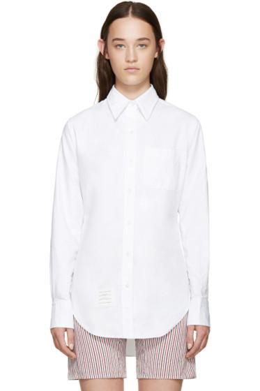 Thom Browne - White Classic PC BD Shirt