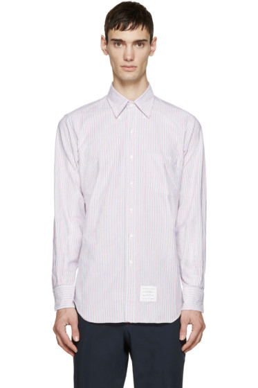 Thom Browne - Tricolor Striped Shirt