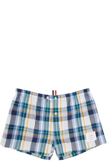 Thom Browne - Multicolor Check Boxers