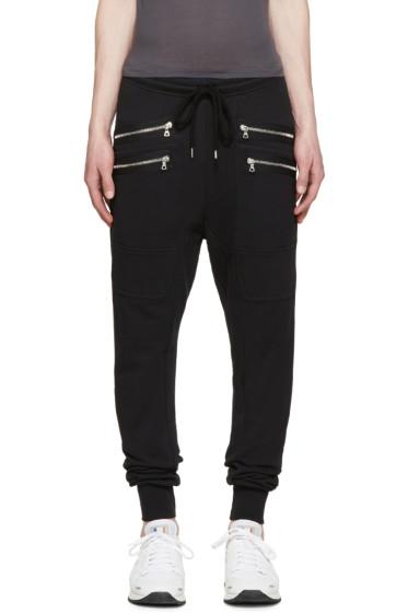 Markus Lupfer - Black Classic Jogger Lounge Pants
