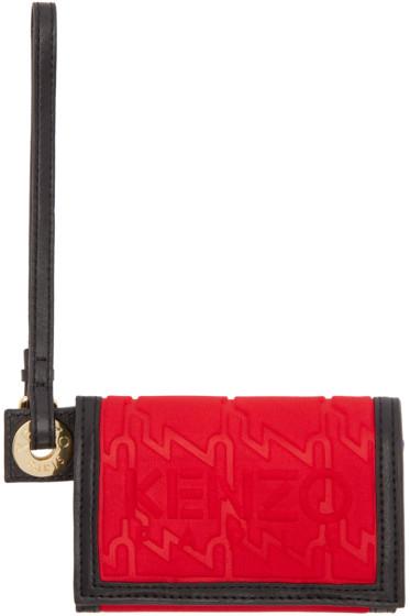 Kenzo - Red Small Kombo Wallet