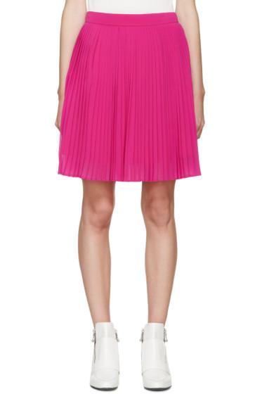 Kenzo - Pink Pleated Miniskirt