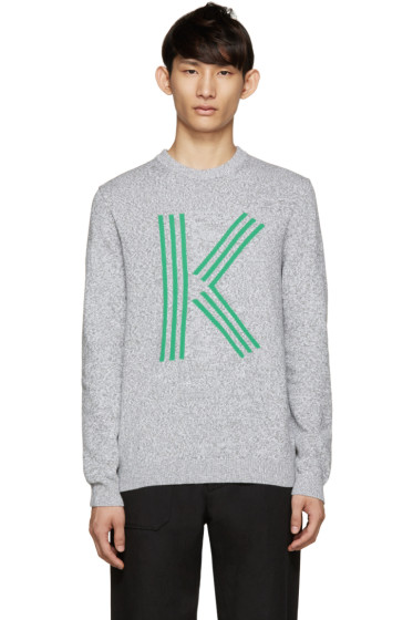 Kenzo - Grey Big K Sweater