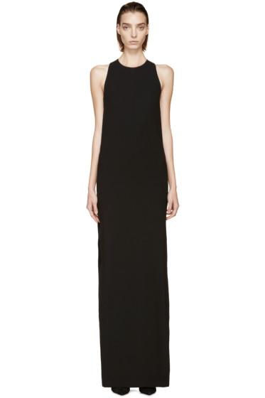 Versus - Black Harness Shift Anthony Vaccarello Edition Dress