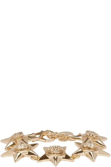 Versace - Gold Medusa Stars Bracelet