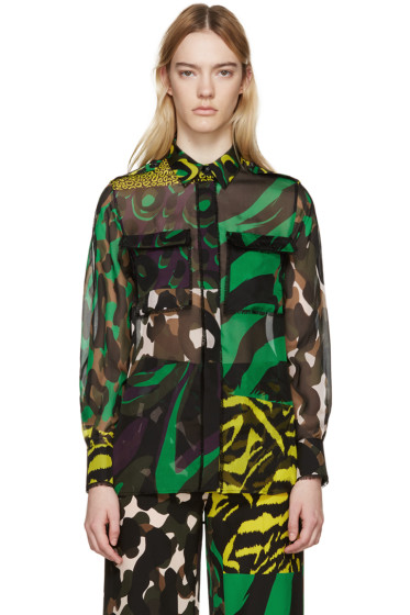 Versace - Multicolor Silk Wild Shirt