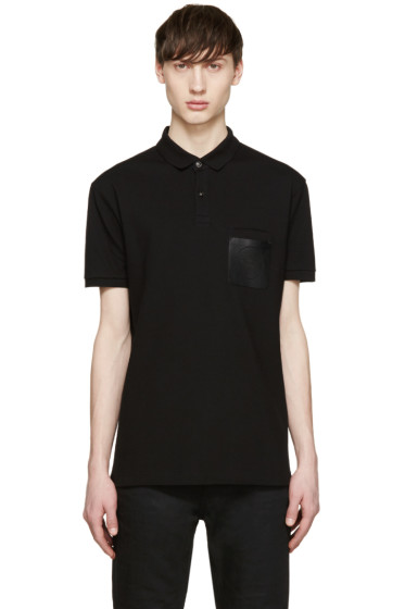 Versace - Black Medusa Pocket Polo