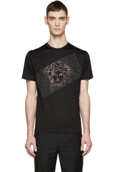 Versace - Black Studded M