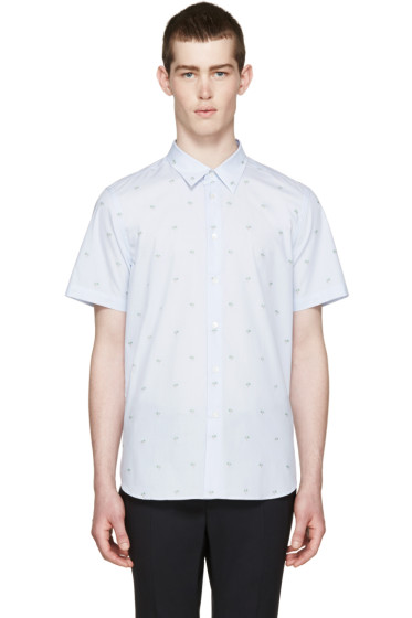 PS by Paul Smith - Blue Palm Tree Shirt