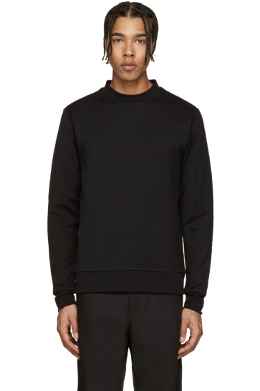 PS by Paul Smith - Black Textured Jersey Pullover