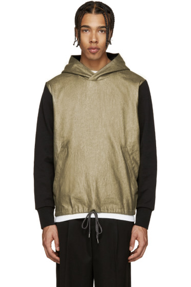 PS by Paul Smith - Black & Brass Hoodie