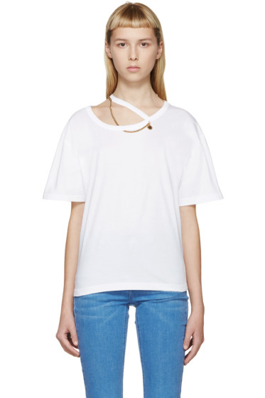 Stella McCartney - White Falabella Chain T-Shirt