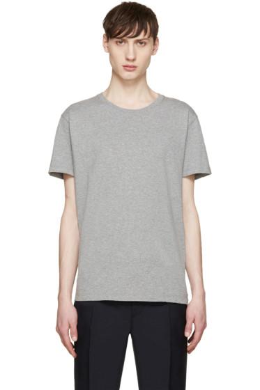 Valentino - Grey Single Stud T-Shirt
