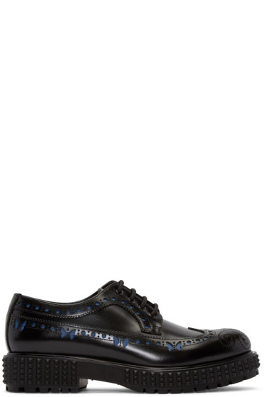 Valentino - Black Butterfly Brogues